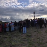 シャーマンの儀式に集った人たち
