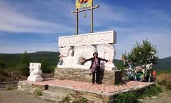 トゥバとハカスの国境