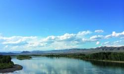 トゥバ共和国を流れるエニセイ川